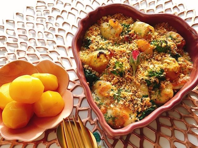 栗のグラタンレシピ