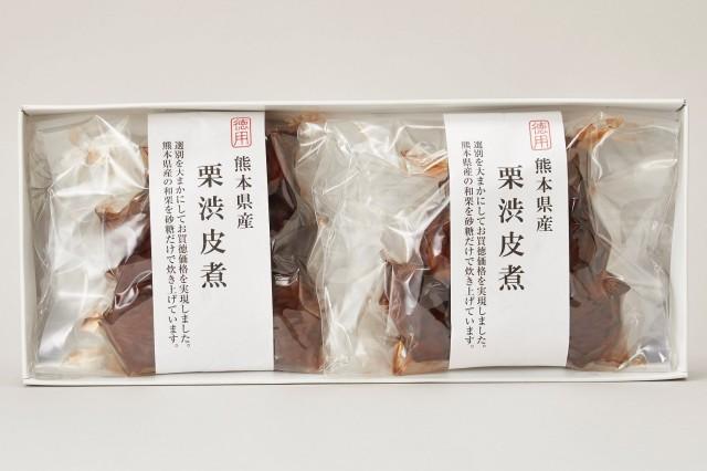 熊本県産徳用栗渋皮煮2個セット